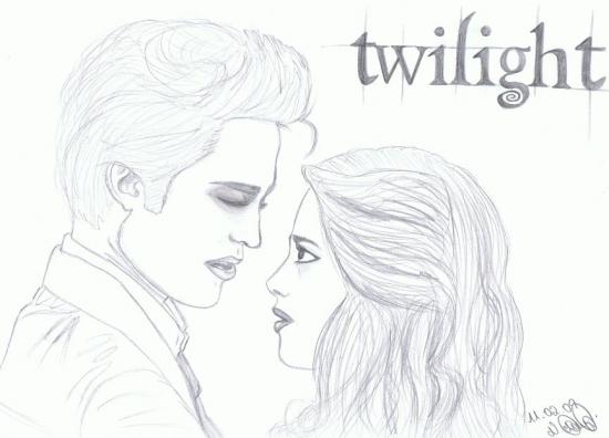Robert Pattinson, Kristen Stewart par GiveAchill